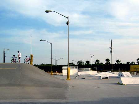 BMX and Skateboard Track