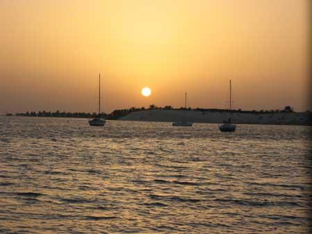 Sunsets at Half Moon Bay