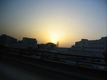 Riyadh at Sunset