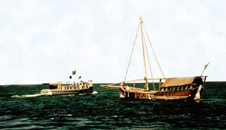 CAL Arabia Launch and Dhow