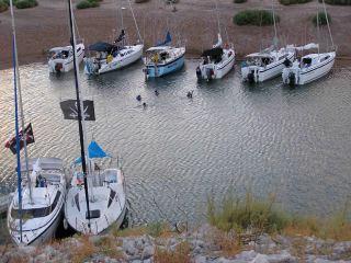Fall Flotilla at Callville Wash cove Oct 9, 2004