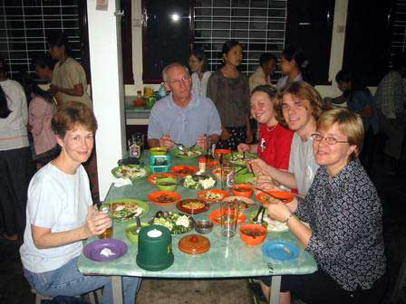 First Meal, Yangon (Rangoon)
