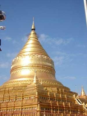 Glittering Shwedagon Stupa, Yangon