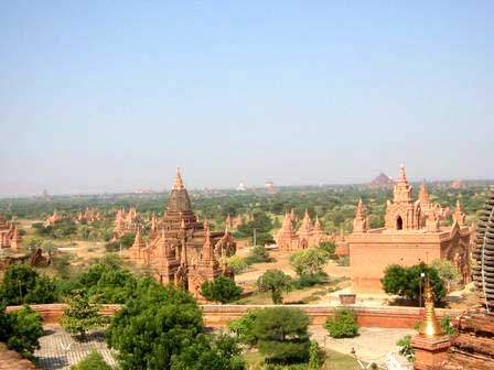 Over 2,500 Pagodas in Bagan
