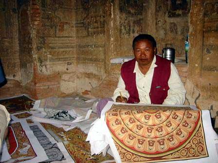 Temple Artist