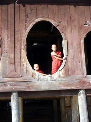Young Temple Monks