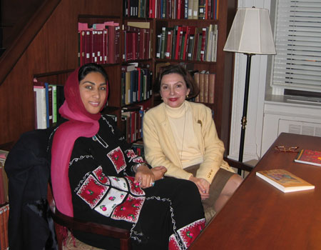 Nimah and Dr. Mary-Jane Deeb