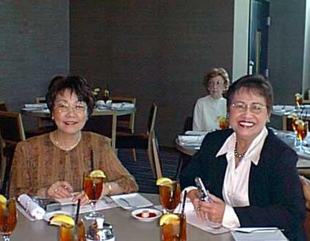 Tomoko and Shirley