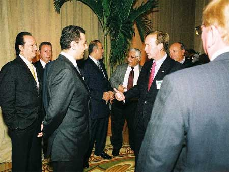 HRH and Neil Bush