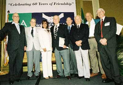 Veterans and FSA Members after Awards