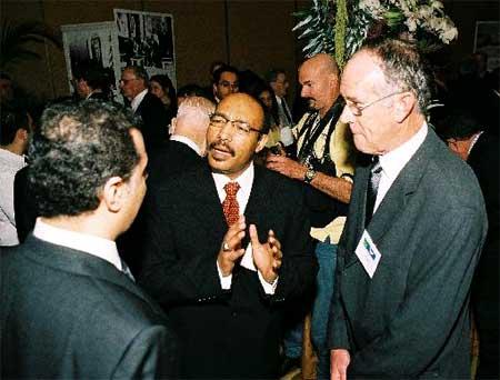 HRH Abdulrahman and Aramcon Tim Barger