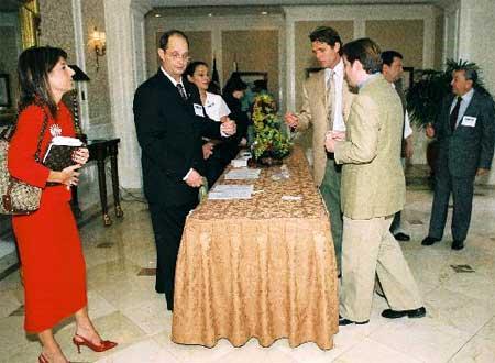 Anthony Kennedy Shriver and Alexander Dessauer Registering