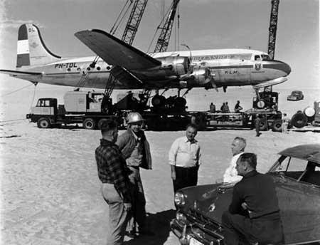 KLM DC-4 Plane Crash