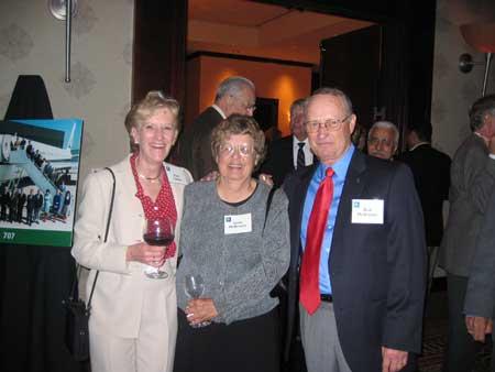 Pam Tamas, June and Bud McBroom