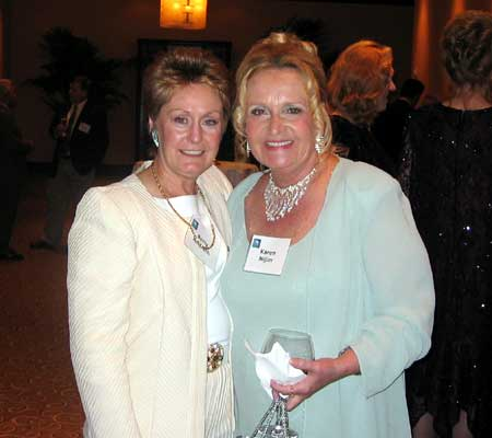 Betty Hildreth and Karen Nijim