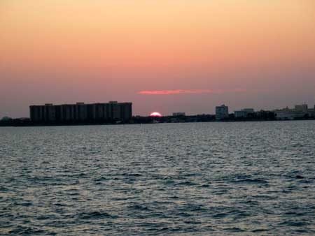 Sunset on Biscayne Bay