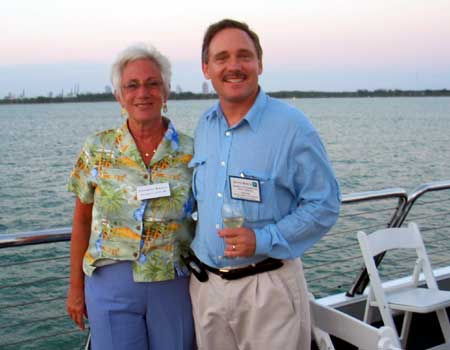 Theresa Kelly and David Bosch