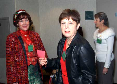 Margie O'Neill and Charlotte Kovacs
