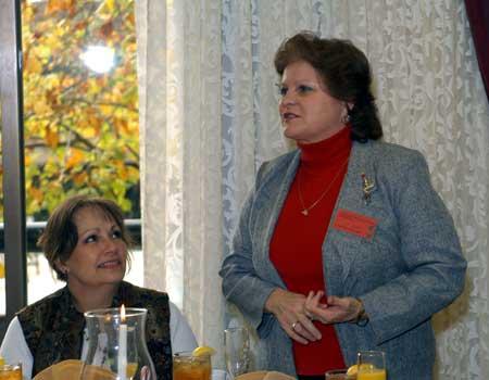 Debbie Breckenridge and Cheryl Nolan
