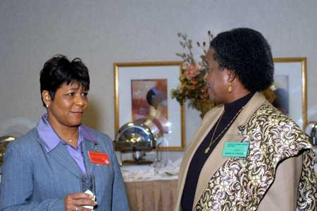 Marjorie Jones and Diann Woods