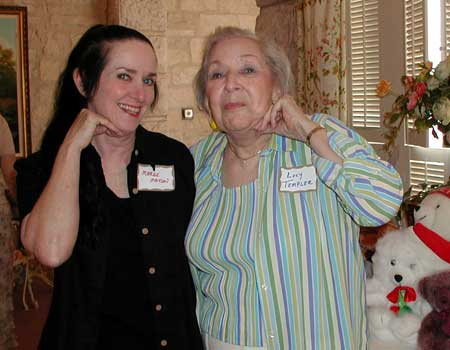 Marge Madsen and Lucy Templer