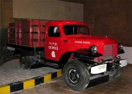 Riyadh Museum - Aramco Truck