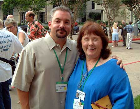 Mundy Ransom and Karen Fallon