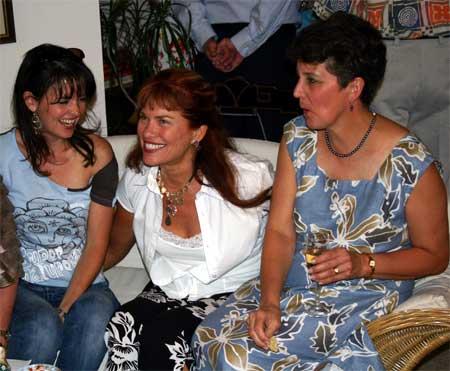Marissa Burgoyne, Jill Cramer and Sylvia Bieniek