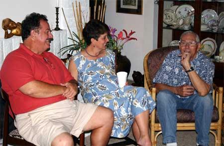 Bob Bieniek, Sylvia Bieniek and Bob Ackerman