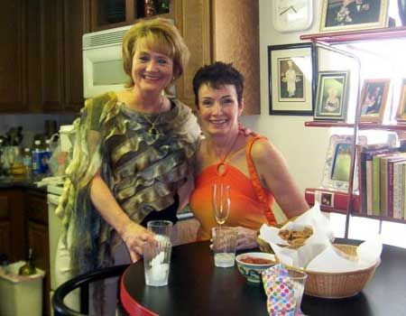 Diane Burgoyne and Kay Siebold