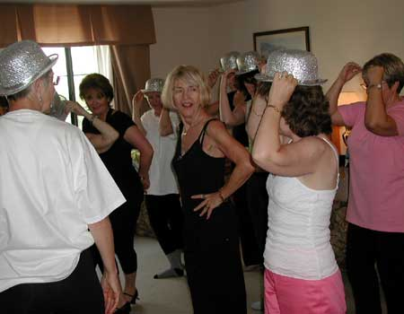 Nancy Ackerman Choreographing