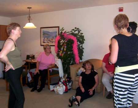 Barbara Watson, Lynn Flower, Diane Burgoyne