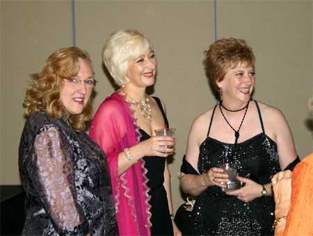 Susan Cowles, Hedy Hatten and Barbara Watson