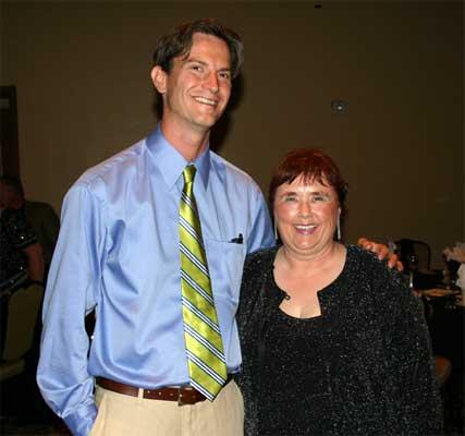 Rusty Swayne and Karen Fallon