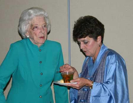 Laverne Bern and Sylvia Bienek