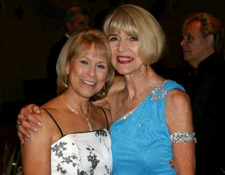 Judy Walker and Nancy Ackerman