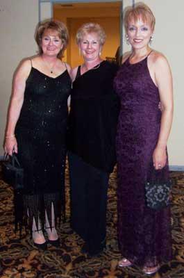 Diane Burgoyne, Lynn Paul and Dawn Essoe