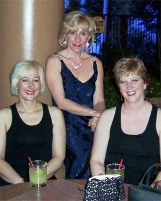 Hedy Hatten, Jennifer Simpson and Barbara Watson