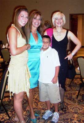 Whitney, Linda and Jake Ksiajek . . .