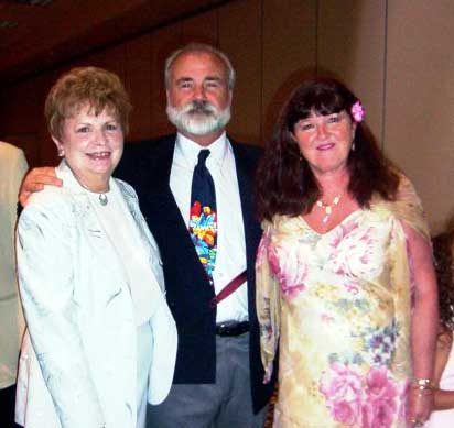Fran Bell with Michael and Joanne Buckley