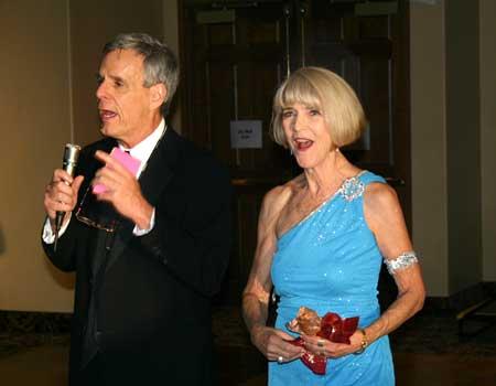 Tim Ackert and Nancy Ackerman