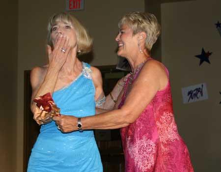 Nancy Ackerman and Marlys Capra