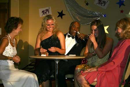 Doc Magic Stuns His Guests