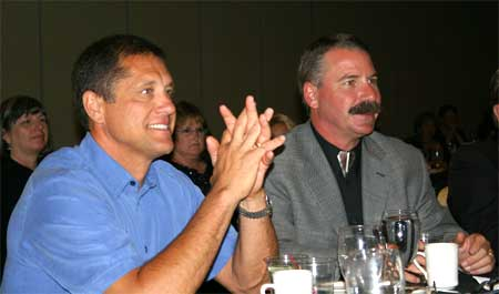 Richard Ksiajek and Dan Beveloqua