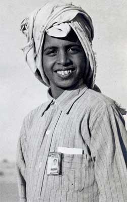 Young Saudi Employee