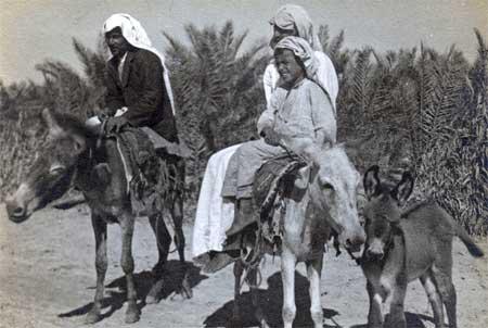 Saudi Men and Small Boy