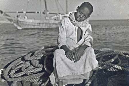 Small Boy by the Arabian Gulf