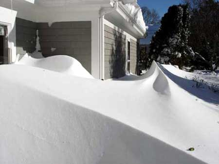 More Snow ...