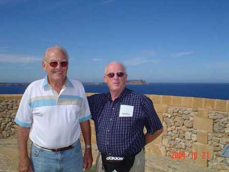 Two ExPats Meet in Menorca - October 2004