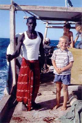 Fishing Near Juraid Island, July 23, 1959